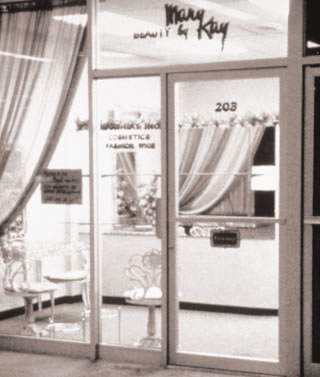 Beauty by Mary Kay opens on Friday, Sept. 13, 1963 in a 500-square foot storefront in Dallas, Texas.